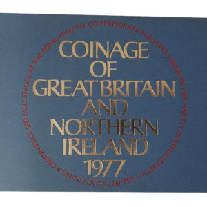 1977 Royal Mint Proof Coin Set