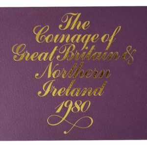 1980 Royal Mint Proof Coin Set