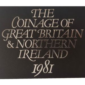 1981 Royal Mint Proof Coin Set