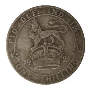1921 King George V Shilling