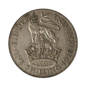 1928 King George V Shilling