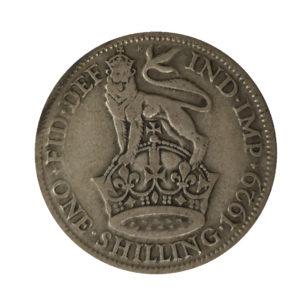 1929 King George V Shilling