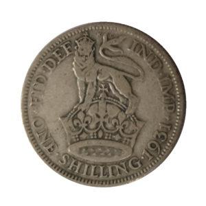 1931 King George V Shilling