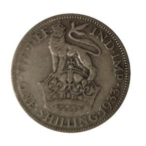 1933 King George V Shilling