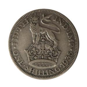 1935 King George V Shilling