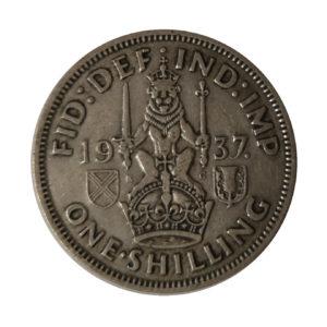 1937 King George VI Scottish Shilling