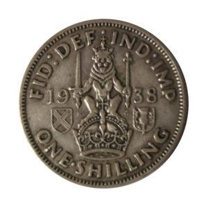 1938 King George VI Scottish Shilling