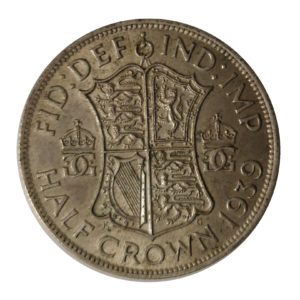 1939 King George VI Half Crown