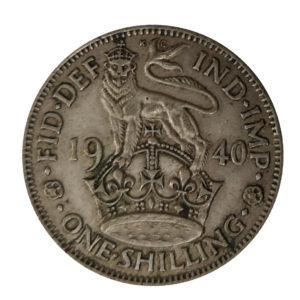 1940 King George VI English Shilling