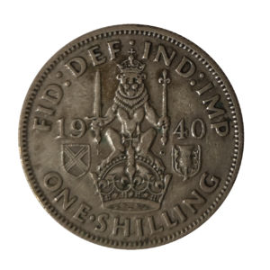 1940 King George VI Scottish Shilling