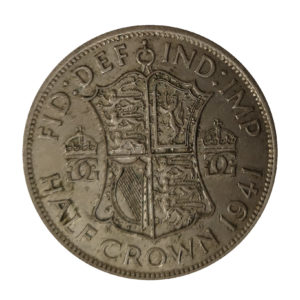 1941 King George VI Half Crown