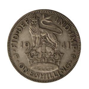 1941 King George VI English Shilling