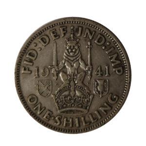 1941 King George VI Scottish Shilling
