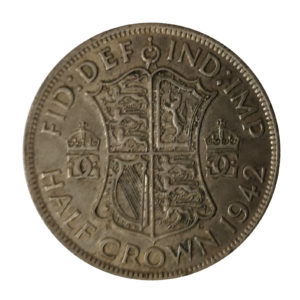 1942 King George VI Half Crown