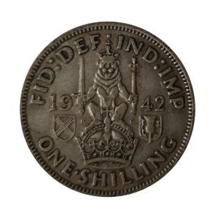 1942 King George VI Scottish Shilling