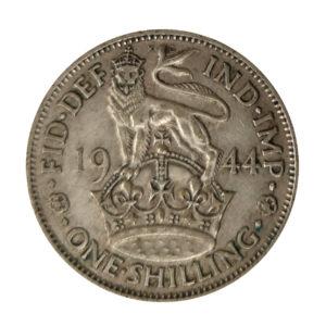 1944 King George VI English Shilling