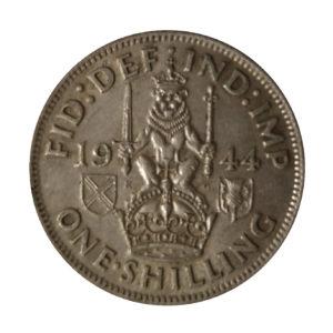 1944 King George VI Scottish Shilling