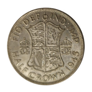 1945 King George VI Half Crown