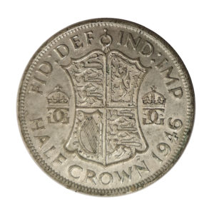 1946 King George VI Half Crown