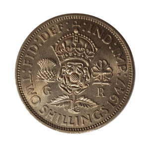1947 King George VI Two Shillings