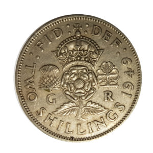 1949 King George VI Two Shillings