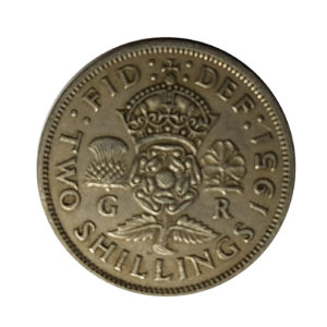 1951 King George VI Two Shillings