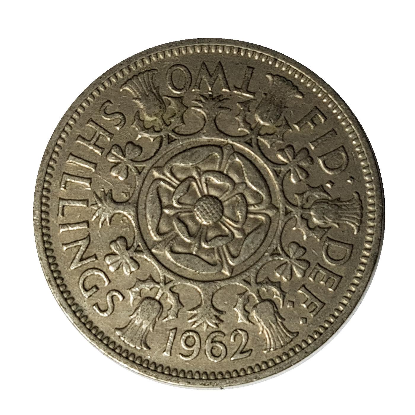 1962 Two Shillings