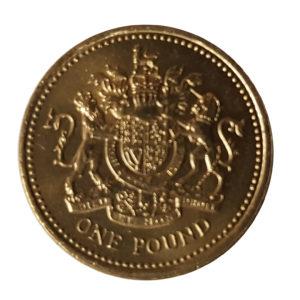 1983 Queen Elizabeth II One Pound Coin