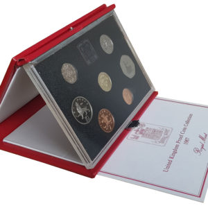 1987 Royal Mint Deluxe Proof Set