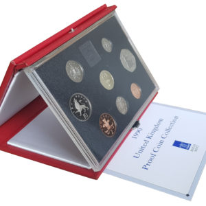 1990 Royal Mint Deluxe Proof Set