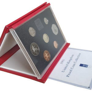 1991 Royal Mint Deluxe Proof Set