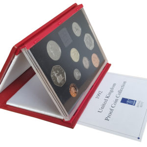 1992 Royal Mint Deluxe Proof Set