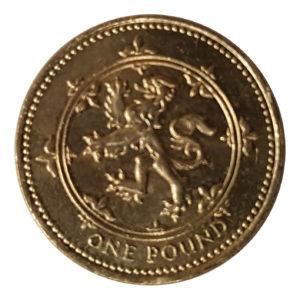 1994 Queen Elizabeth II One Pound Coin