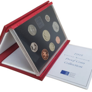 1995 Royal Mint Deluxe Proof Set