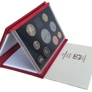 1996 Royal Mint Deluxe Proof Set