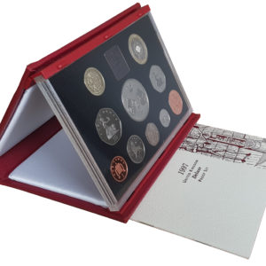 1997 Royal Mint Deluxe Proof Set