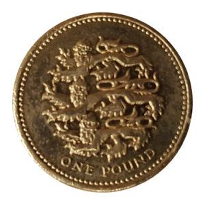 1997 Queen Elizabeth II One Pound Coin