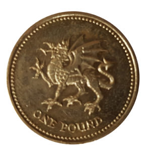 2000 Queen Elizabeth II One Pound Coin