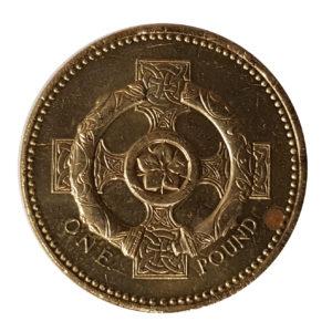 2001 Queen Elizabeth II One Pound Coin