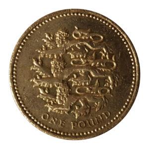 2002 Queen Elizabeth II One Pound Coin