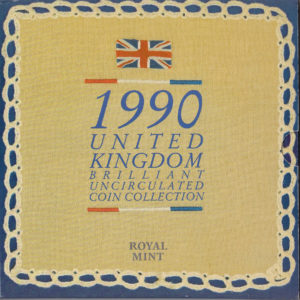 1990 Brilliant Uncirculated Coin Set
