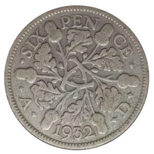 1932 Sixpence