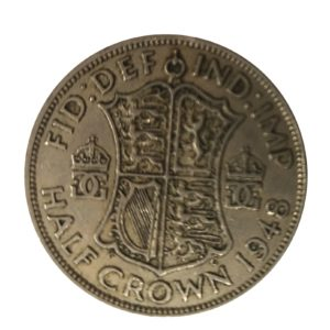 1948 King George VI Half Crown