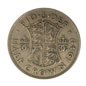 1949 King George VI Half Crown