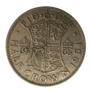 1951 King George VI Half Crown