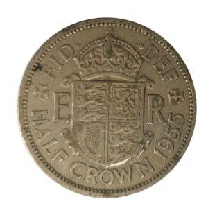 1955 Half crown