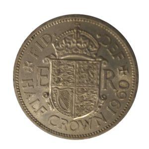 1960 Queen Elizabeth II Half Crown