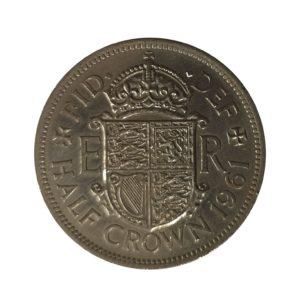 1961 Queen Elizabeth II Half Crown