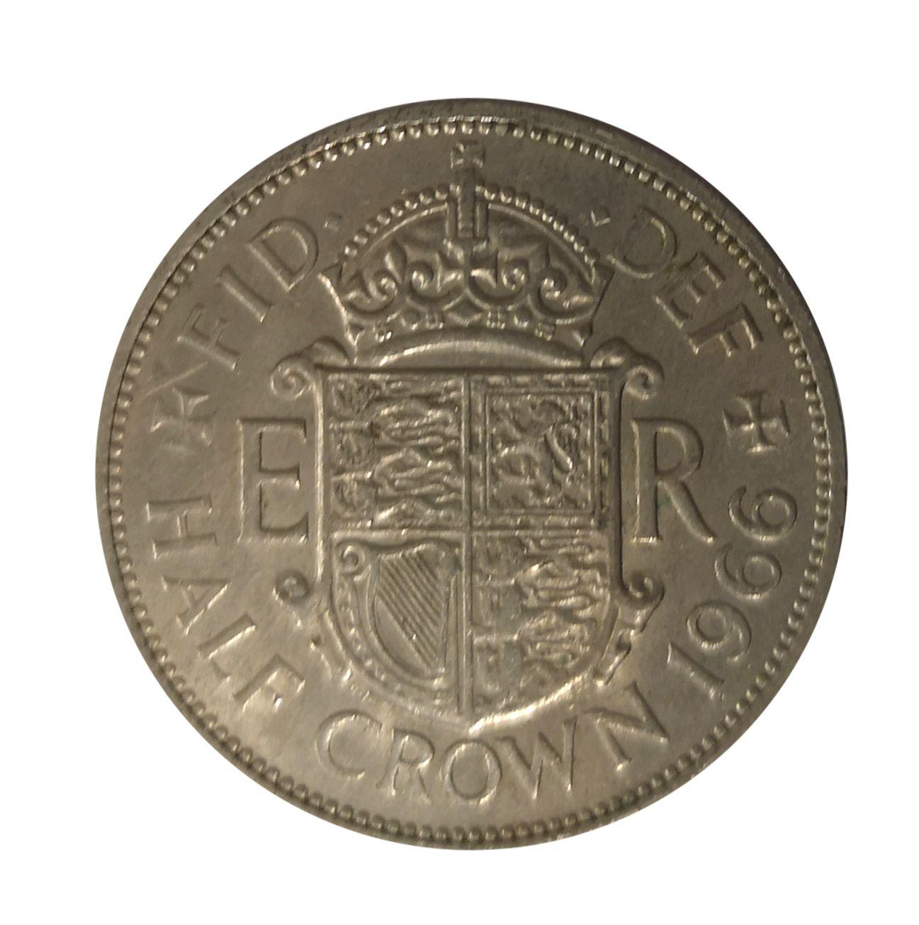 half crown coin 1950