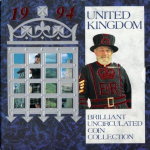 1994 Brilliant Uncirculated Coin Set
